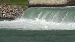 Wtn res Spillway 005 Stock Footage