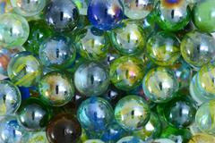 marble balls - stock photo