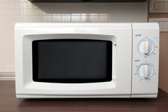 Stock Photo of microwave oven