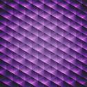 Stock Illustration of abstract  geometric violet cubic background