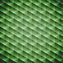 Stock Illustration of green emerald geometric cubic background