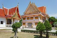 Stock Photo of black monk temple in the south of thailand