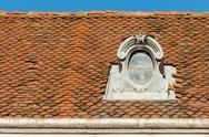 Stock Photo of Common Medieval House Roof