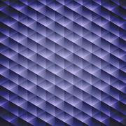 Dark blue geometric cubic background, Stock Illustration