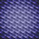Stock Illustration of dark blue geometric cubic background,