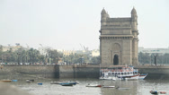 Stock Video Footage of The Gateway of India in Mumbai