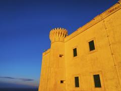 El toro monastery on minorca Stock Photos
