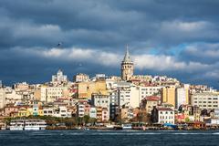 Galata-torni istambul, kalkkuna Kuvituskuvat