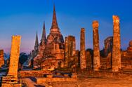 Stock Photo of wat phra si sanphet, ayutthaya, thailand