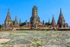 Wat chaiwatthanaram, ayuthaya province, thailand Stock Photos