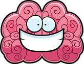 Stock Illustration of Brain Smiling
