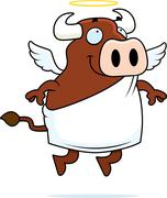 Holy Cow Stock Illustration