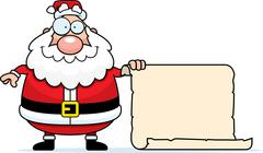 Santa List Stock Illustration