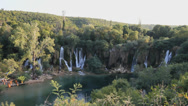 Stock Video Footage of Waterfall Kravice, Ljubuski, Bosnia & Herzegovina