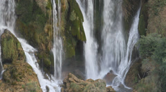 Waterfall Kravice, Ljubuski, Bosnia & Herzegovina Stock Footage
