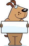 Dog Sign - stock illustration
