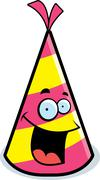 Stock Illustration of Party Hat Smiling