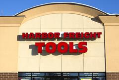 Harbor freight storefront Stock Photos
