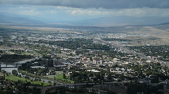 Downtown Missoula Timelapse Stock Footage