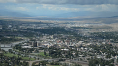 Downtown Missoula Stock Footage