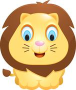 Stock Illustration of Baby Lion