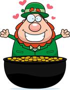 Leprechaun Gold Stock Illustration
