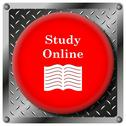 Stock Illustration of study online icon