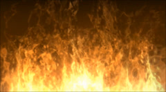 Abstract Blurred Rising Flames, Motion Background Stock Footage