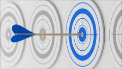 The target Stock Footage