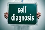 Stock Illustration of self diagnosis