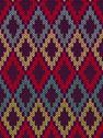 Stock Illustration of knit woolen seamless jacquard ornament texture. fabric color tracery backgrou