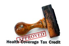 health coverage - approved - stock photo