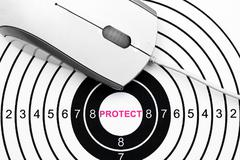 Web protect target Stock Photos
