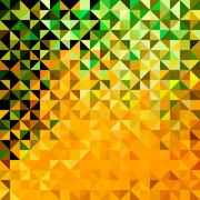 Abstract geometric color background Stock Illustration