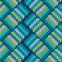 Stock Illustration of seamless knitted pattern. style knit woolen jacquard ornament texture. fabric