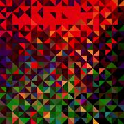 abstract geometric color background - stock illustration