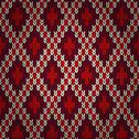 Stock Illustration of seamless red knitted pattern