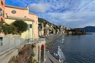 Stock Photo of liguria - sori, italy