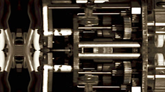 Clockwork Mechanism - Steampunk Stock Footage
