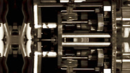 Stock Video Footage of Clockwork Mechanism - Steampunk