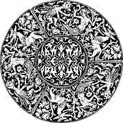 Stock Illustration of Renaissance seamless pattern. Vector illustration