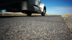 Highway Road Truck Going - stock footage