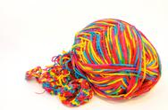 Stock Photo of colorful yarn