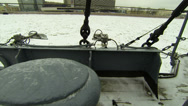 Stock Video Footage of Ship's deck of the cruiser Aurora