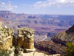 grand canyon geology - stock photo
