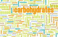 Stock Illustration of carbohydrates weight loss