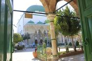Stock Photo of El-Jazzar Mosque in the Ancient and Biblical City of Acre