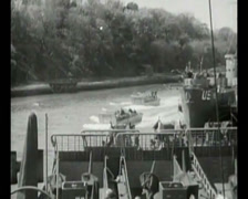 WW2 - 1944 - Operation Overlord D-Day - Preparations 07 Stock Footage