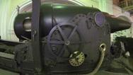 Stock Video Footage of Military artillery gun