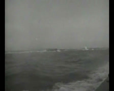 WW2 - 1944 - Operation Overlord D-Day - US soldiers Attacking Beaches 03 Stock Footage